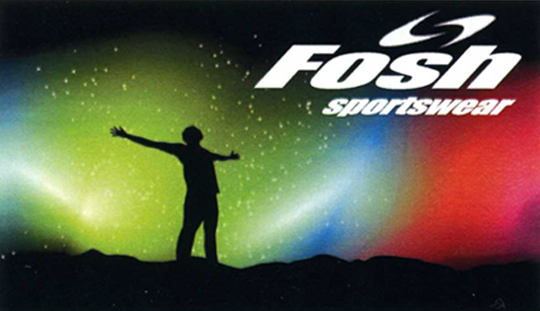 Business Card for Fosh sportswear