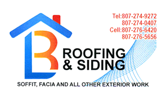 Business Card for roofing and siding