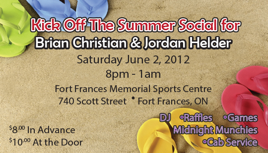 Kick off the summer social ticket